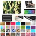 "5in1 Hard Case Cover + screen protector + Keyboard Skin + Dust plug + Touchpad Stickers for Macbook Air Pro Retina 11"" 13"" 15"""