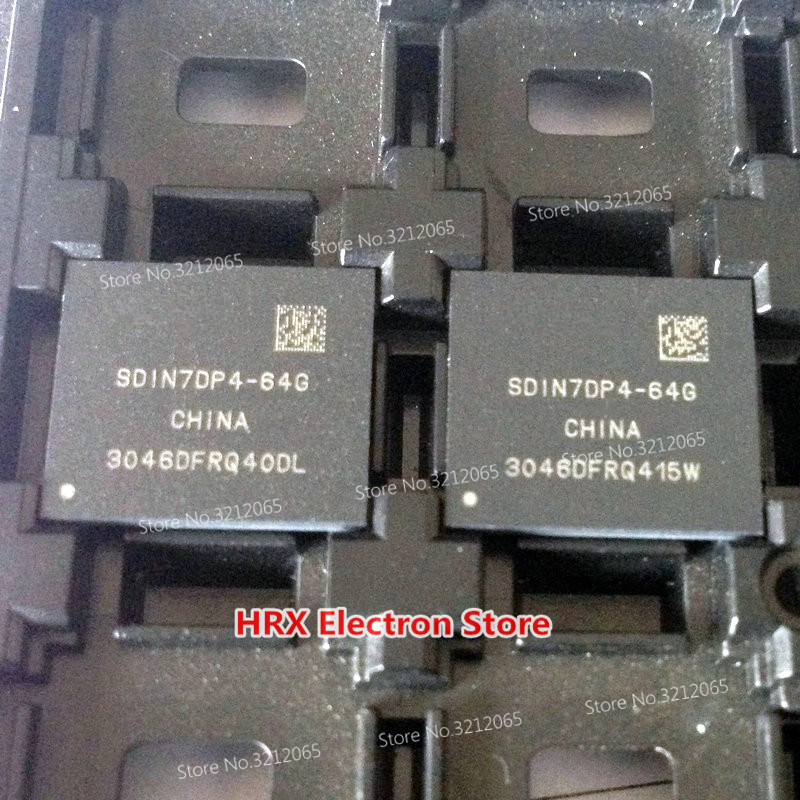 100% Yeni Orijinal SDIN7DP4-64G BGA EMMC SDIN7DP4 64G100% Yeni Orijinal SDIN7DP4-64G BGA EMMC SDIN7DP4 64G