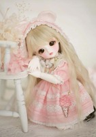 Full Set 1/6 BJD Doll BJD/SD Cute Miu Joints Doll For Baby Girl Birthday Gift Present With Glass Eyes