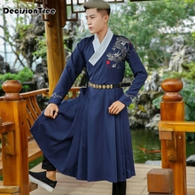 2019 new ancient chinese costume men tang dynasty suit hanfu men cosplay ancient costume photography stage