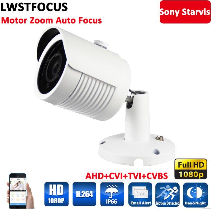 Sony Starvis IMX290+EN771T 1080P 2.8-8mm Motor Zoom&Auto focus 3X AHD Camera Outdoor IP66 Full HD CCTV Security Camera OSD Cable удлинитель zoom ecm 3