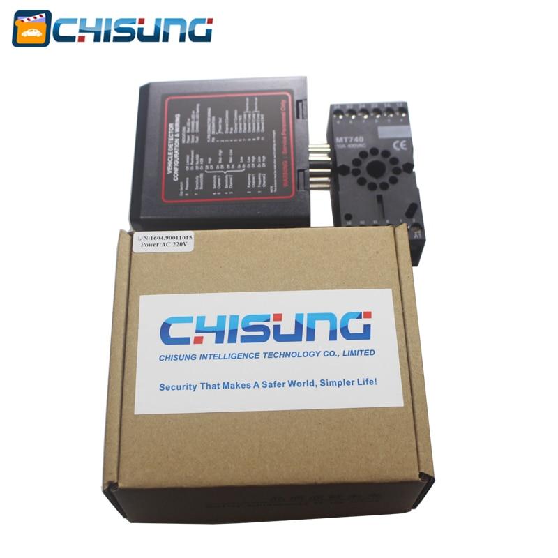 Chisung Car Park Barrier Loop Detectors PD132 Inductive Vehicle Loop Detector / Loop Sensor For Vehicle Access