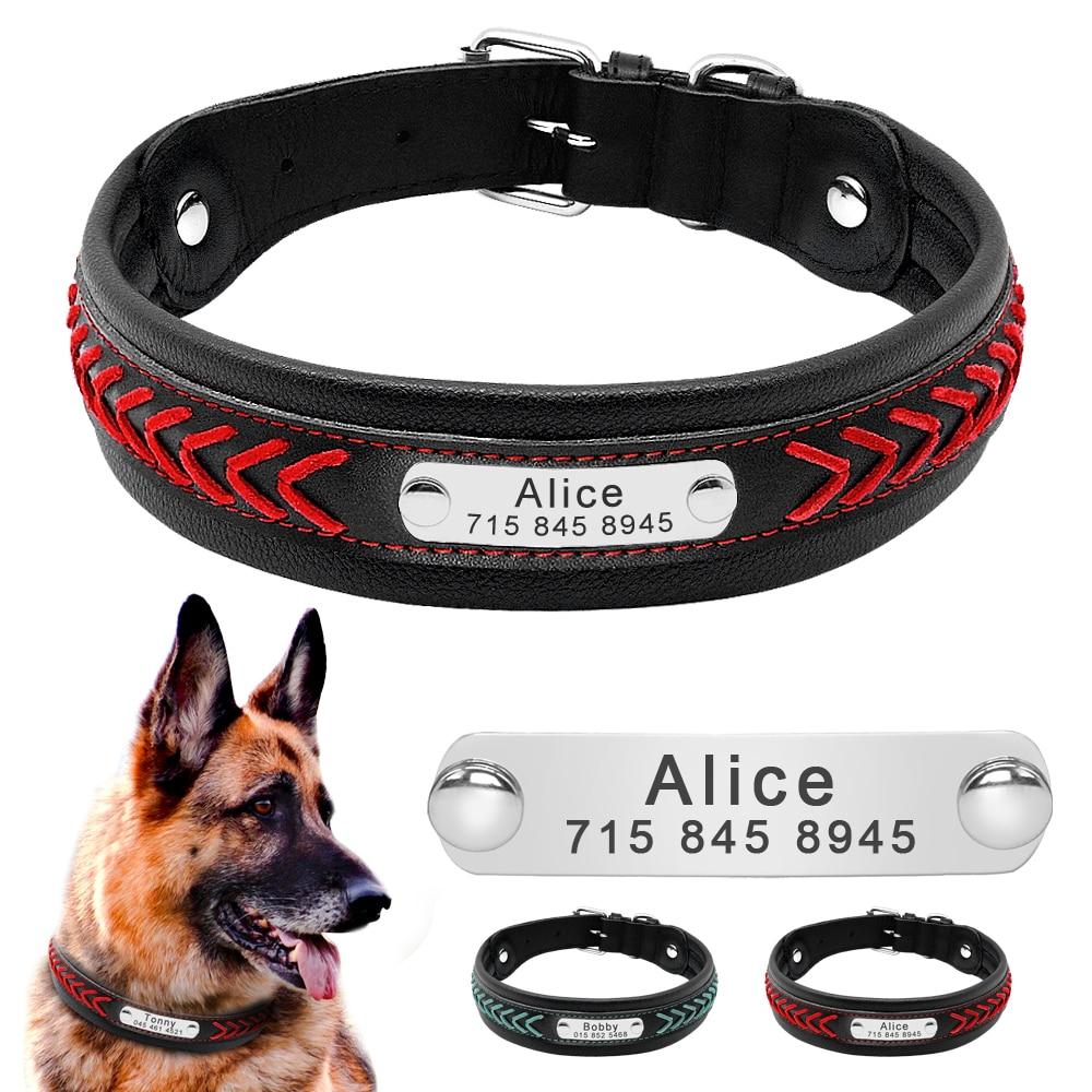 HTB1F pfXAC4K1Rjt j7q6ykEXXaB - Halsband hond met naam en telefoonnummer robuust