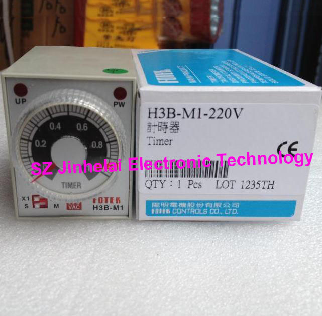 New and original H3B-M1-220V (H3B-M1 220V)  FOTEK  Time relay 100% new and original fotek photoelectric switch a3g 4mx mr 1 free power photo sensor