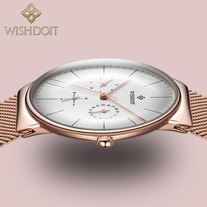 Image 1 - Women Watches Top Brand Luxury Japan Quartz Movement Stainless Steel Sliver White Dial Waterproof Wristwatches relogio feminino