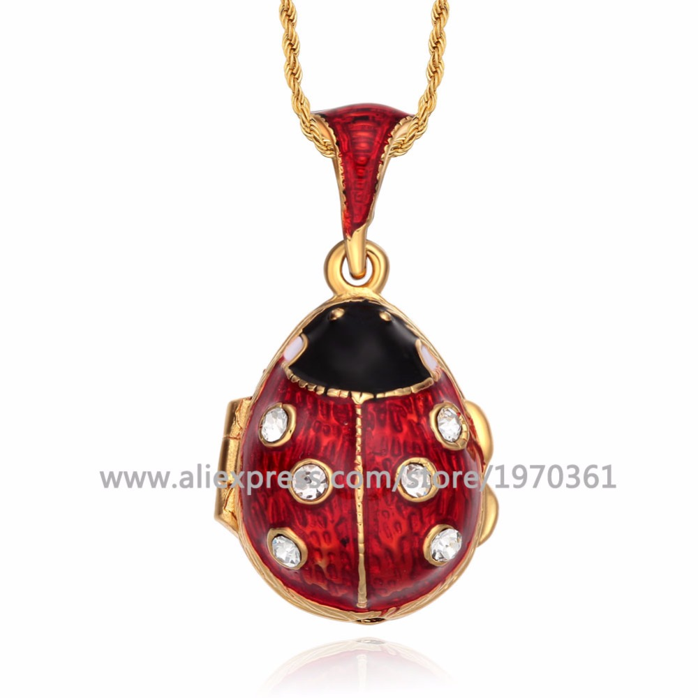 Jewelry & Accessories Necklaces & Pendants Original Easter Bonus Hottest Enamel Handmade Jewelry Vintage Egg Pendant Charm Crystal Rhinestone Necklaces Holiday Gifts To Women 2019