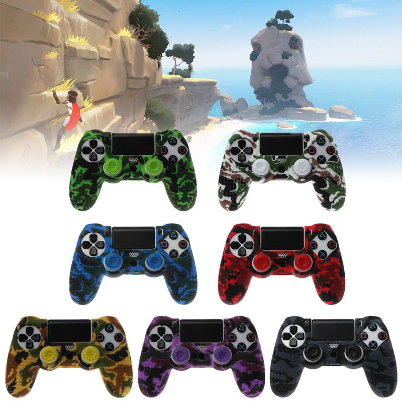 Coque camouflage pour manette ps4