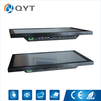 Excellent 4*USB Intel Core i5 6200U Wall Mounting All In One Barebone Resistive Touch Desktop Gamer Pc with 4GB DDR4