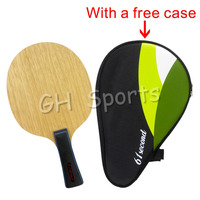 61second 3003 Super Light Table Tennis Racket Blade (FL 55-65g / CS 63-74g) with a free full case