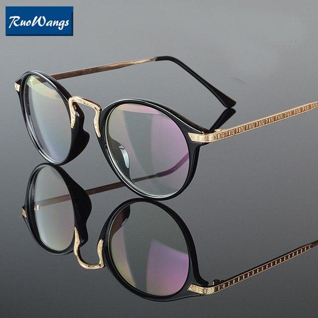 0bb15221f2 RuoWangs Optical eyeglasses frame spectacle frame women eye glasses oculos  de grau prescription glasses frame eyeglasses women