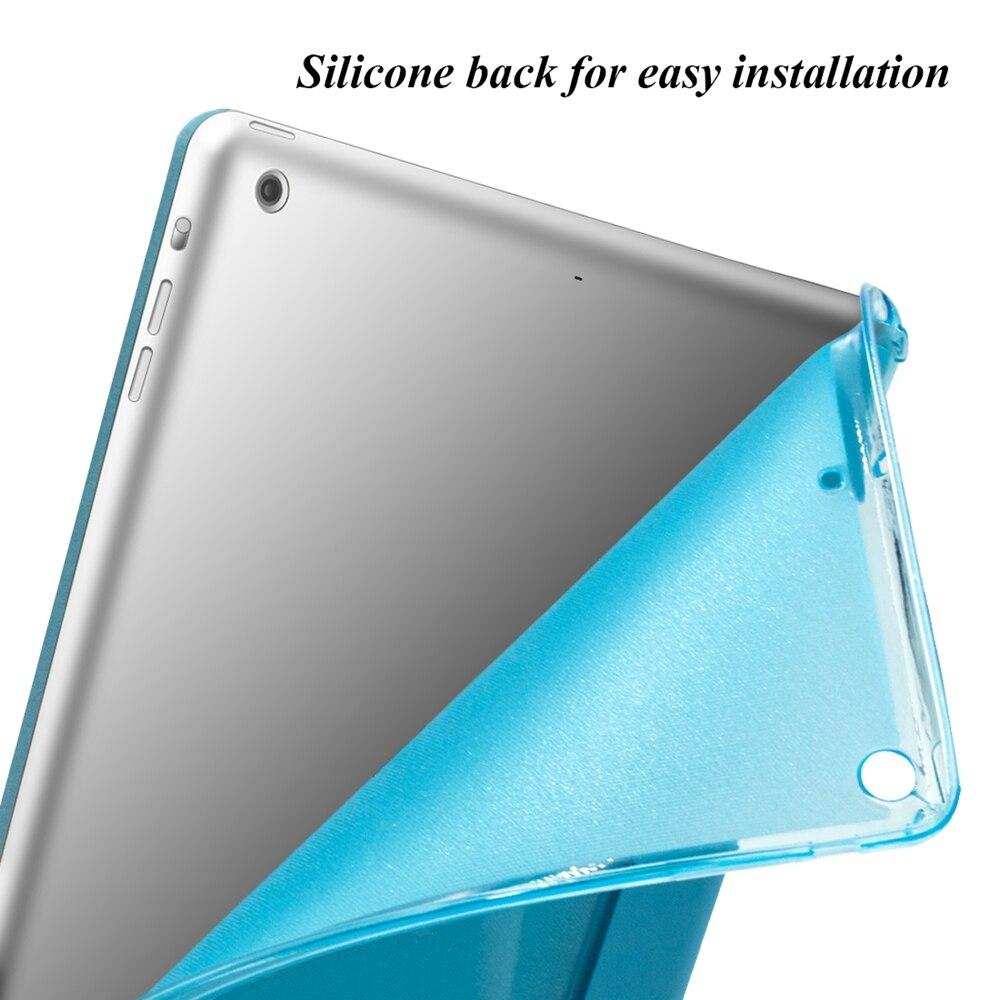 Funda para iPad Air 2 Air 1 [Respaldo suave de silicona con - Accesorios para tablets - foto 3