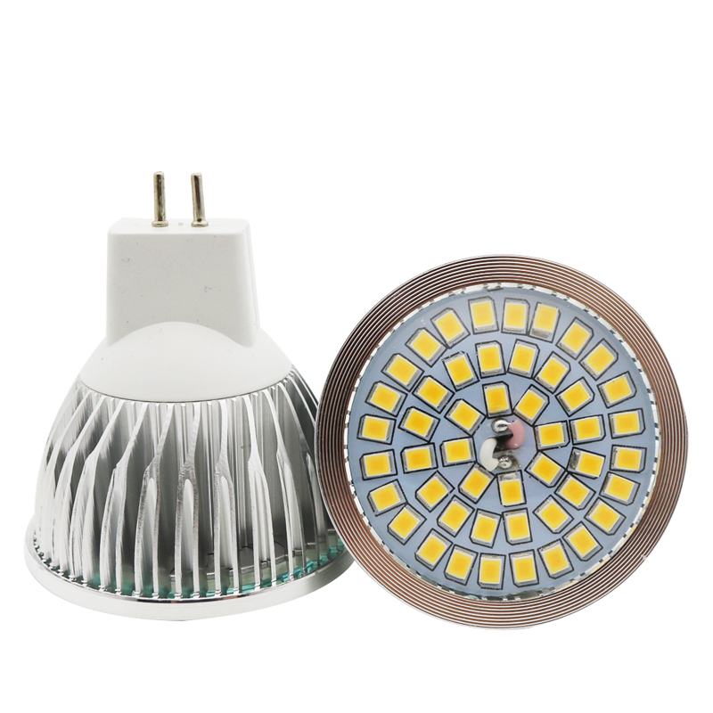 1x 100% Quality Assurance MR16 10W SMD 2835 48 LED Light Bulb White Warm White AC 12V LED Spot Aluminum Spot Lamp Spotlight