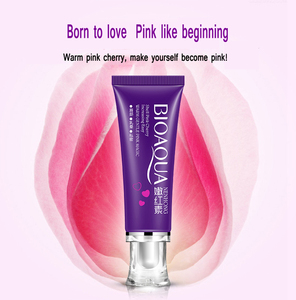 Image 1 - 20Pcs BIOAQUA Intimate Whitening Pink Cream for Rose Whitening Lips Private Skin Care Nipples