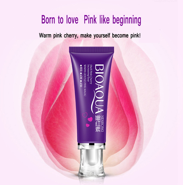 20Pcs BIOAQUA Intimate Whitening Pink Cream for Rose Whitening Lips Private Skin Care Nipples