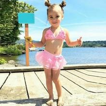 beat горячие летние для маленьких девочек элегантный тюль Шорты купальные для доски розовый купальник костюм одежда Заплыва Купальники maiô infantil