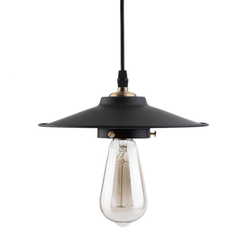 top quality modern pendant lamp vintage rustic metal lampshade light lustre shade hanging lamp. Black Bedroom Furniture Sets. Home Design Ideas