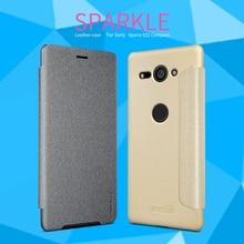 For Sony Xperia XZ2 Compact Case NILLKIN Flip Case For Sony Xperia XZ2 Compact Flip Leather Cover Case For Sony XZ2 Compact все цены