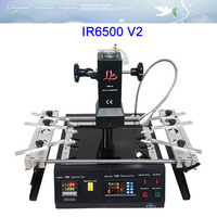 Free Shipping Infrared BGA Rework Station LY IR6500 V 2 Bigger Preheat Area 240 200mm USB