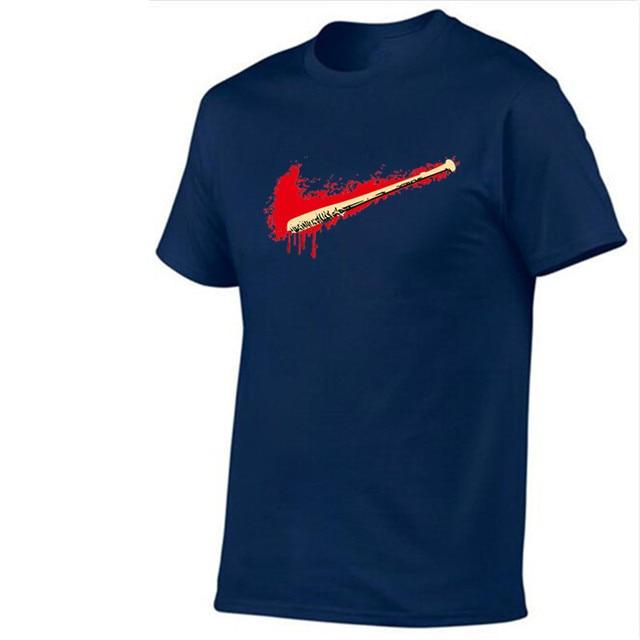 Новый 2018 хлопок футболка мужчин О-образным вырезом just do it топы смешно с коротким рукавом Футболка брендовая мужская логотип печати Футболка мужская футболка