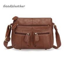 ccb8626915a76 Designer handtaschen casual kleine tasche weibliche hohe qualität aus  echtem leder handtasche frau braun schulter messenger
