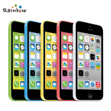 Original Unlocked Apple iPhone 5C iOS Dual Core 8GB/16GB/32GB 8MP Camera 4.0 inches WIFI GPS 3G Cell Phone
