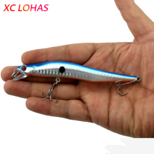 12cm 10g  Bent Minnow Fishing Lure Artificial Baits 3D Fish Eye Minow Lures Fake Bait High Imitation Swimbait Crankbait MI086