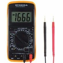 New DT9205A Digital Multimeter LCD AC/ Ammeter Resistance Capacitance Tester -Y103