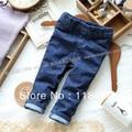 Primavera outono calças jeans crianças Denim calças skinny crianças calças