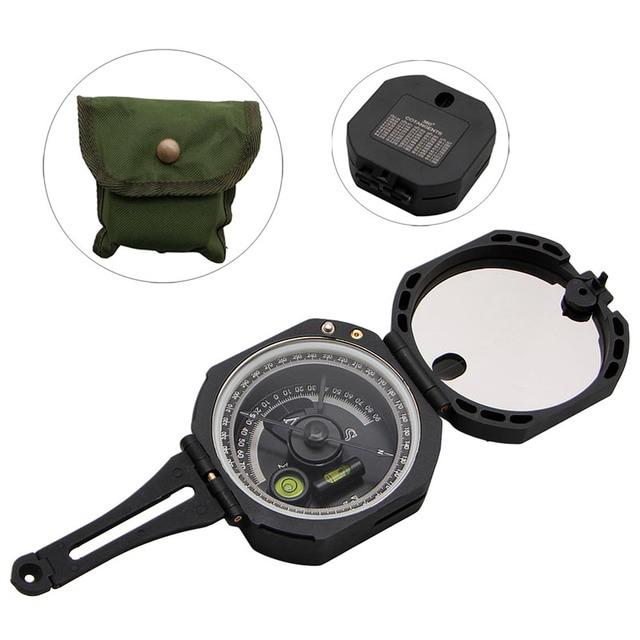 1Pc Plastic 0-360 Degrees Hiking Gear Compasses 6