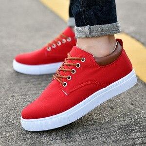 Image 4 - Nouveauté printemps été confortable chaussures décontractées hommes chaussures en toile pour hommes marque de mode mocassins plats chaussures