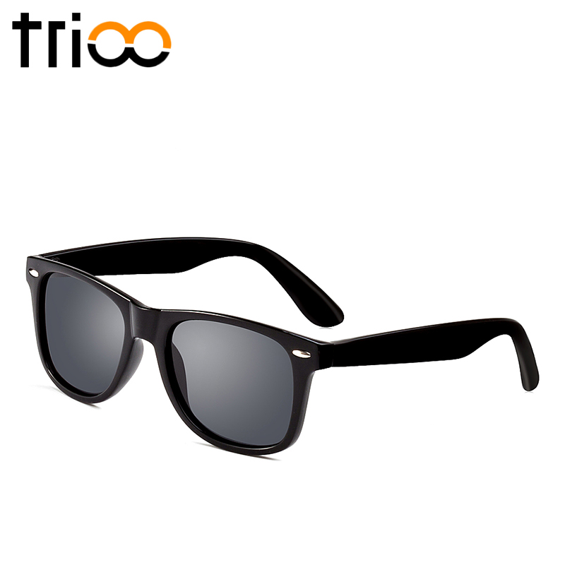 black polarized sunglasses  Aliexpress.com : Buy TRIOO Black Polarized Sunglasses Men Oculos ...