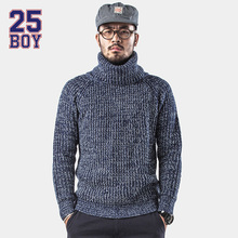 25BOY HARDLY EVER'S Turtle Neck Sweater Trendy Streetwear