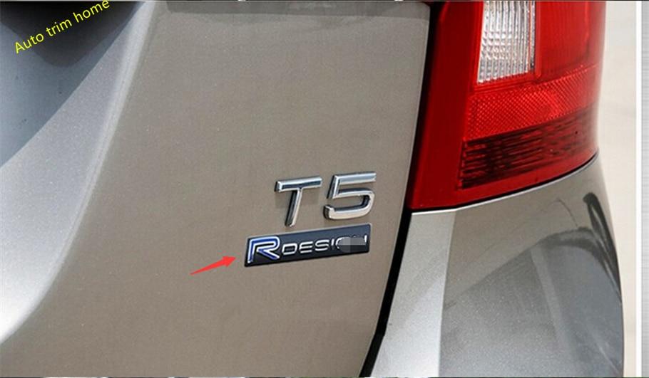 Интерьера ! Для S60 и V60 на Вольво ХС60 и V40 R-дизайн логотип автомобиля хвост + Обвайзера стандартный крышка отделка 3D наклейки 2 шт. / компл.