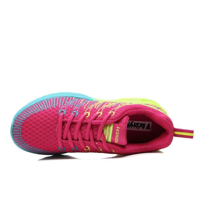 2282ce7b580 placeholder Ytracygold Mesh mujer sneakers amortiguación transpirable  casual Zapatos mujeres Basket Femme plataforma Zapatos zapato plano calzado