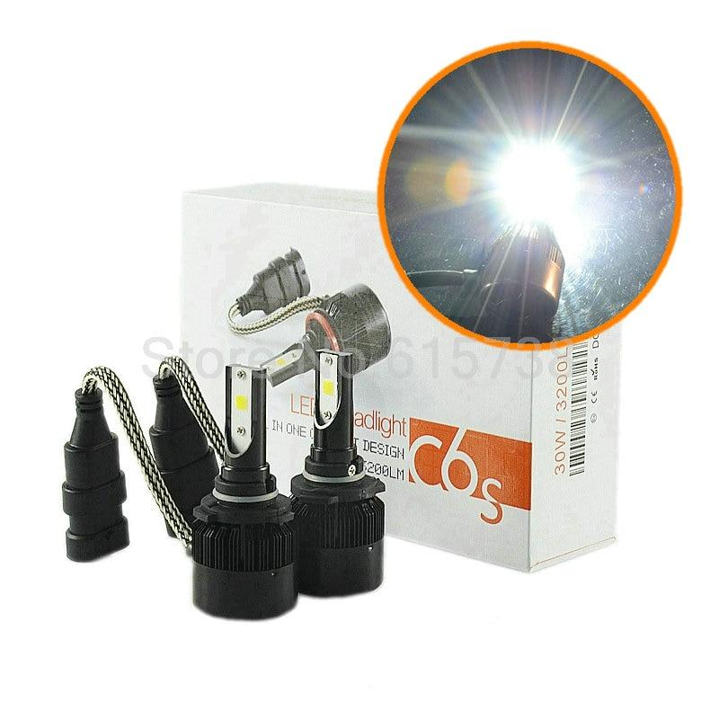 AUTO car head lamp LED Headlight Plug&Play Auto 6400lm 60W Kit Headlamp H1 H4 H3 H7 H8/H9/H11 9005 9006 HB3 HB4 880 881 40w led car headlight h3 auto conversion kit cree h1 h3 h4 h7 h11 9005 hb3 9006 hb4 4800lm headlamp