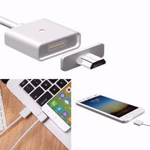 Android Micro USB Charging Cable Magnetic Adapter Charging Cable For Samsung Huawei HTC Sony LG With Micro USB Port P0.16