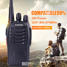 Cheapest Baofeng 5W 16CH UHF400-470NHZ Handheld Two way Radio BF-888S walkie talkie handheld two way radio