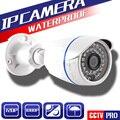 HI3516C XMEYE CCTV HD 1080 P 2MP Cámara IP Bala Al Aire Libre Cámara de Seguridad IP 720 P Con 1080 P Lente 3.6mm (48 V POE Cable Opcional)