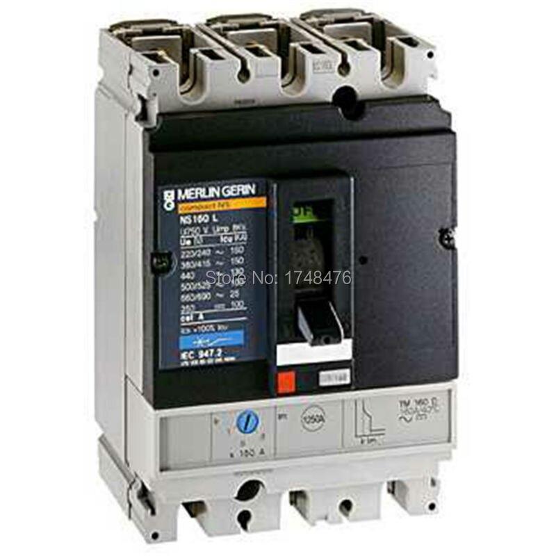 ФОТО NEW 29715 circuit breaker Compact NS100L - TMD - 16 A -3 poles 3dd