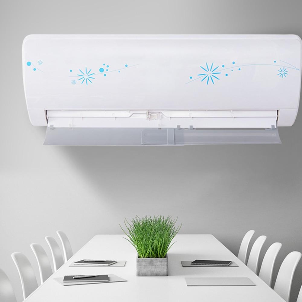 Windguard воздушный демпфер кондиционер ветровое стекло пластик перегородка Ресторан расширяемый прочный пластик