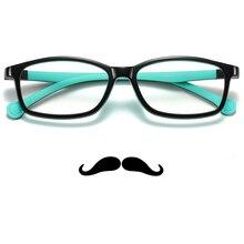 Детские голубые световые очки для мальчиков и девочек, антирадиационные светофильтр TR90 очки для компьютерных игр UV400, защитные очки для глаз
