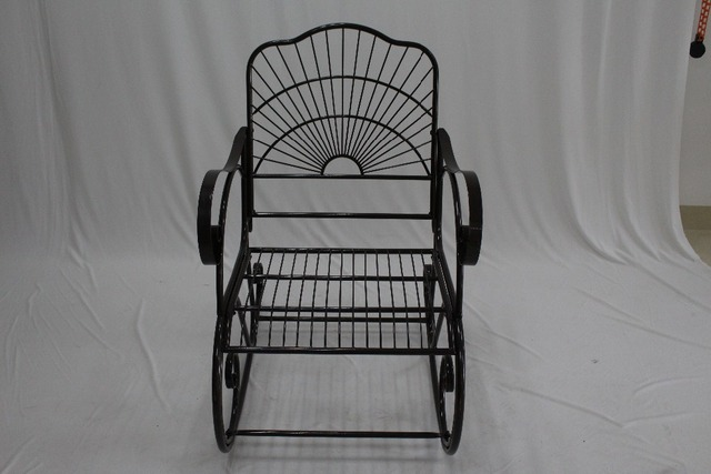 Outdoor Rocking Chair Metal Black : outdoor rocking chairs for sale - lorbestier.org