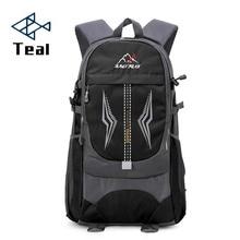 Mens backpack large capacity usb charging mens bags waterproof casual backpacks unisex black travel Mountaineering