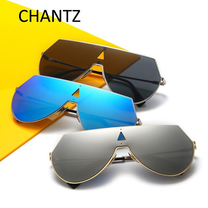 2017 Fashion Oversized Round Mirror Sunglasses Women Men Brand Designer Polarized Sun Glasses for Driving shopping Oculos De Sol