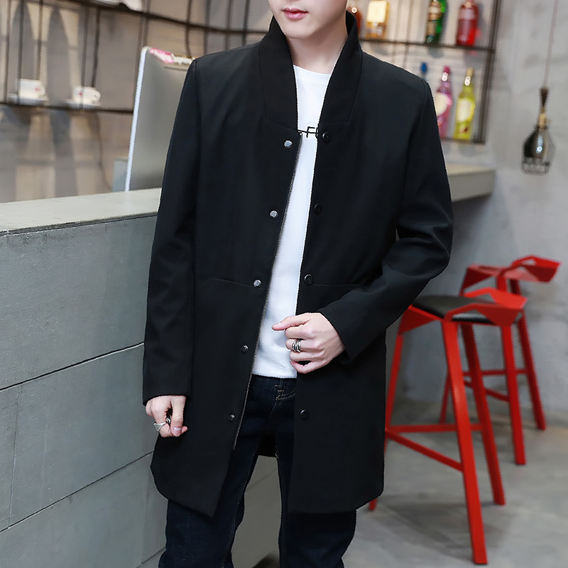 2018 New Autumn and winter Mens Fashion Outerwear Windbreaker Men S Thin Jackets Hooded Casual Coat Windproof fashion men