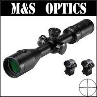 Marcool EST 3 9x42 интегрированный красный лазер Airsoft Air guns Тактические пистолеты винтовки Opticsl Охота оптический прицел с креплениями для прицелов