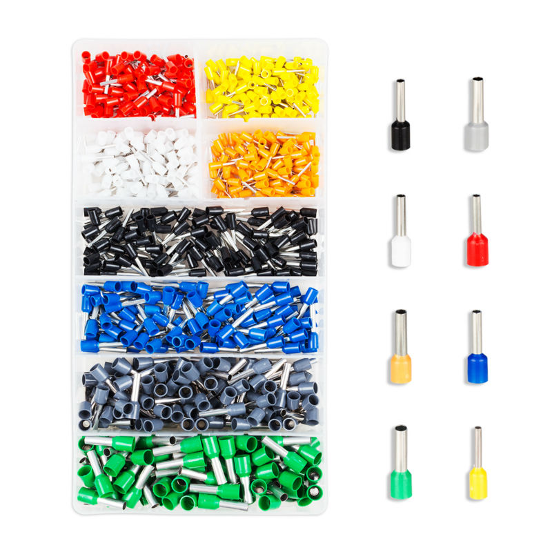 800pcs Assorted Insulated Wire Terminals Kit Electrical Crimp Connector Spade Set with Storage Box вейкборд liquid force wake park flex assorted 143