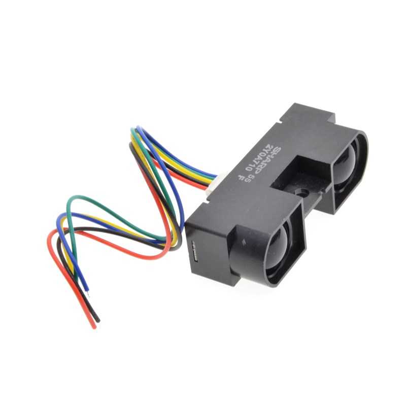 GP2Y0A710K0F 100% NEW SHARP 2Y0A710K 100-550cm Infrared distance sensor INCLUDING WIRES