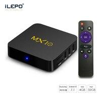 MX10 Smart TV Box Android 7 1 RK3328 Quad Core 64bit DDR4 4GB 32GB KD17 4