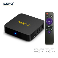 MX10 Smart TV Box Android 7 1 RK3328 Quad Core 64bit DDR4 4GB 32GB KD17 4